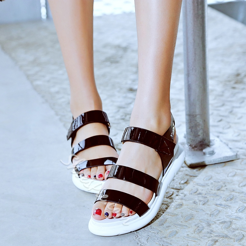 Shoespie Simply Chic Sporty Sandals