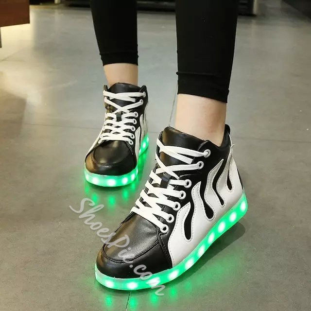 Shoespie Luminous Sole Sneakers