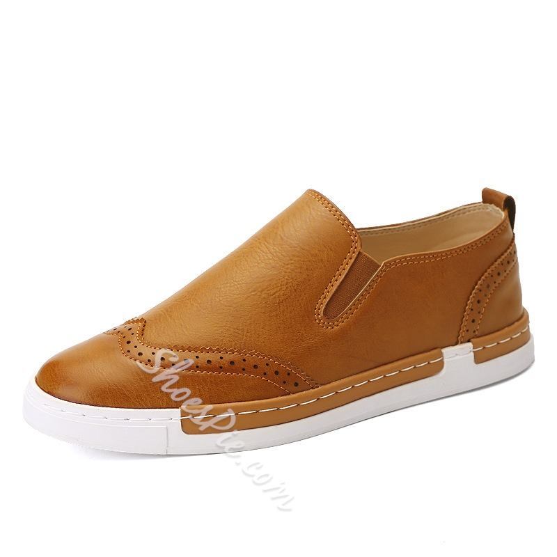Shoespie Soft Leather Men Loafers