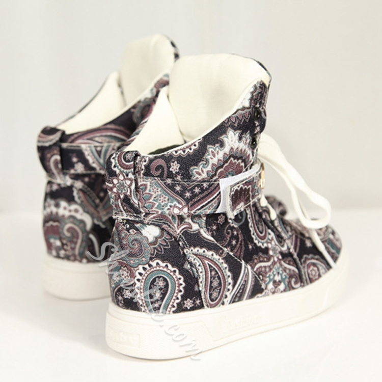 shoespie Exotic Paint Sneakers