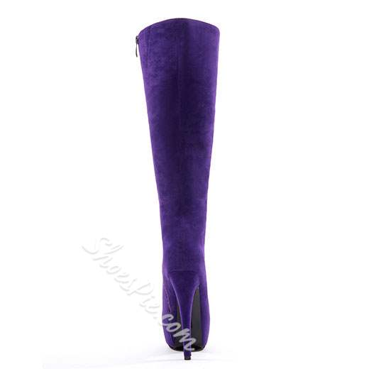 New Arrival Stiletto Heels Knee High Boots