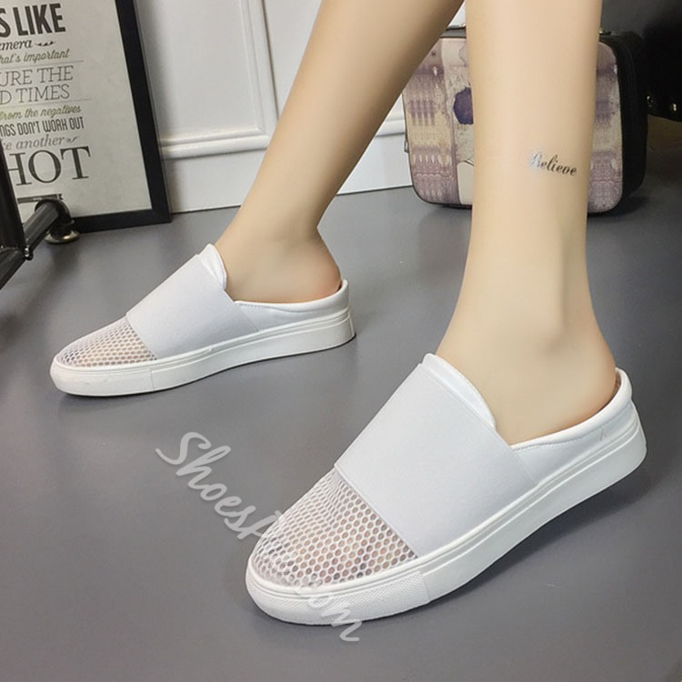 Shoespie Summer Soft Backless Sporty Loafers