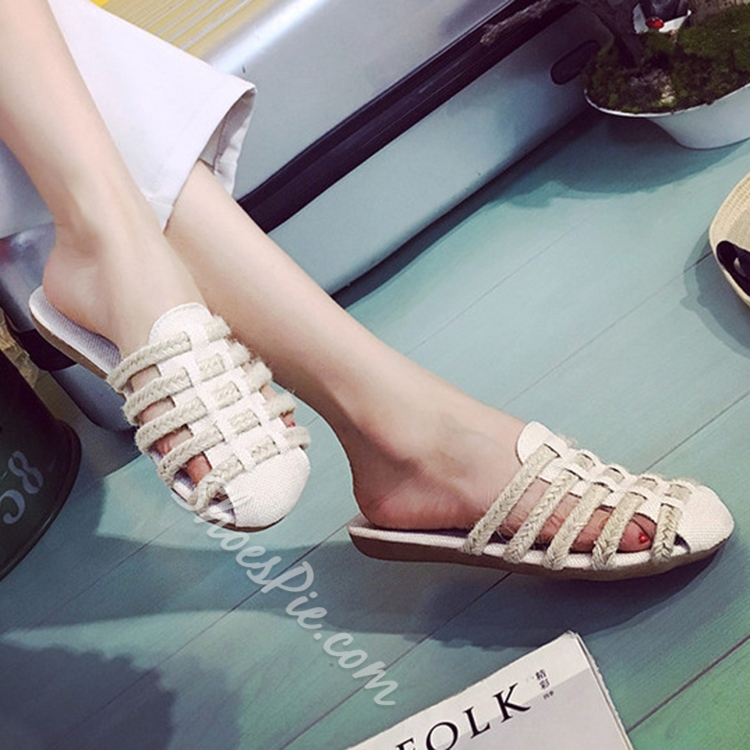 Shoespie Summer Soft Backless Loafers