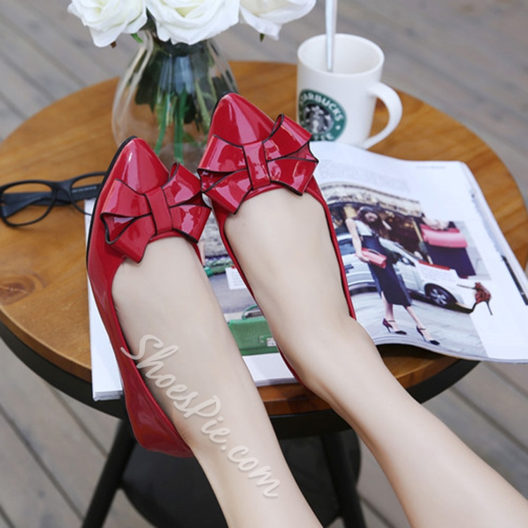 Shoespie Classy Bowtie Loafers