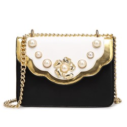 Shoespie Delicate Jewelled Chain Bag