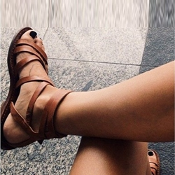 Shoespie Nomcore Flat Sandals