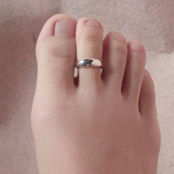 Shoespie Simply Golden Toe Ring