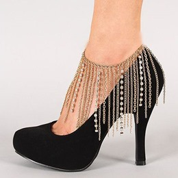 Shoespie Gorgeous Tassels Anklet(Single)