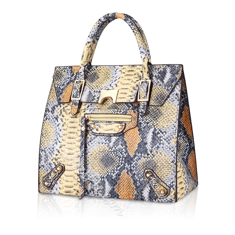 Shoespie Wild Style Sneak Pattern Tote