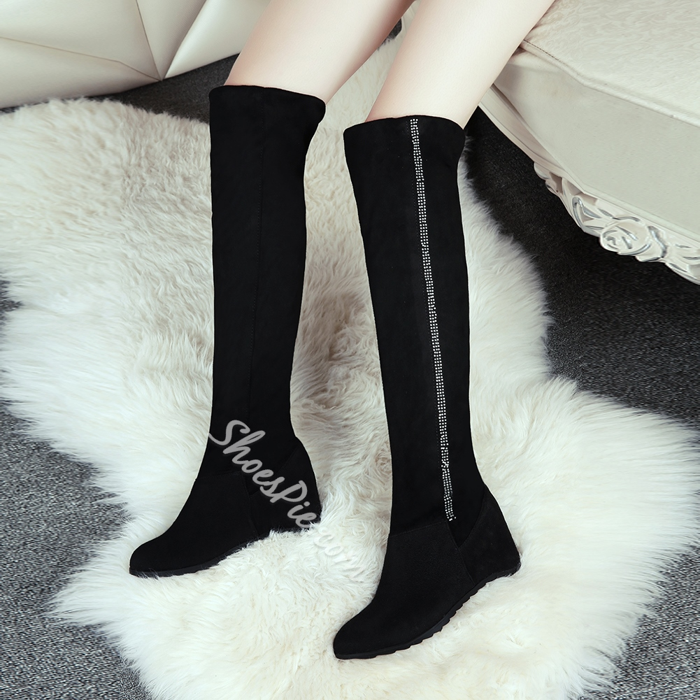 Shoespie Pre-fall Classy Knee High Boots