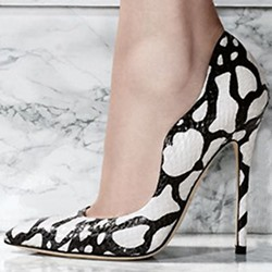 Shoespie Wild Leopard Stiletto Heels