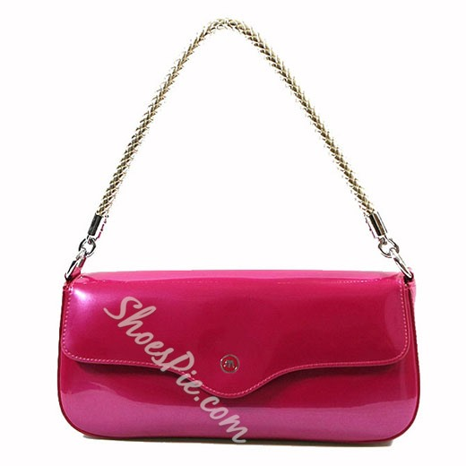 Shoespie Elegant Patent Leather Handbag