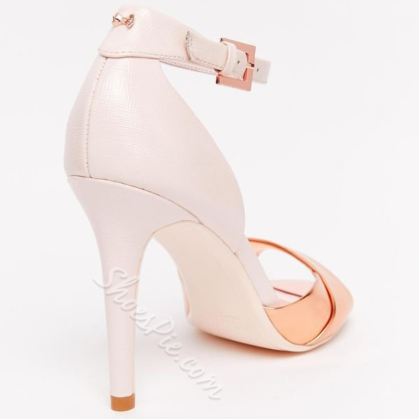 Shoespie Elegant Heel Cover Dress Sandals