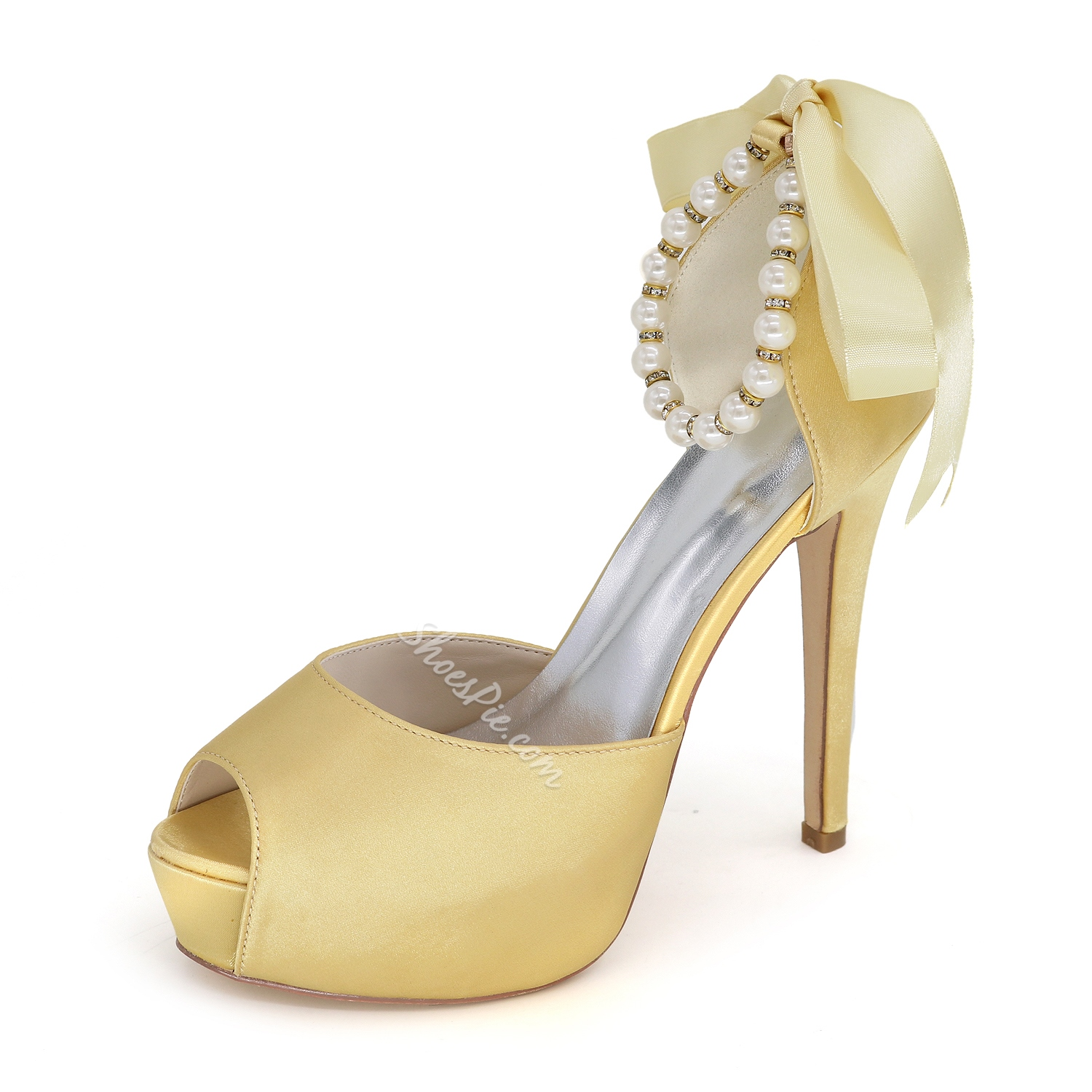 Fashionable Pearls Stiletto Heel Sandals