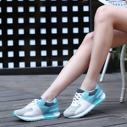 Shoespie Cute Color Block Mesh Sneakers