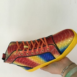Shoespie Rainbow Color Men's Sneakers