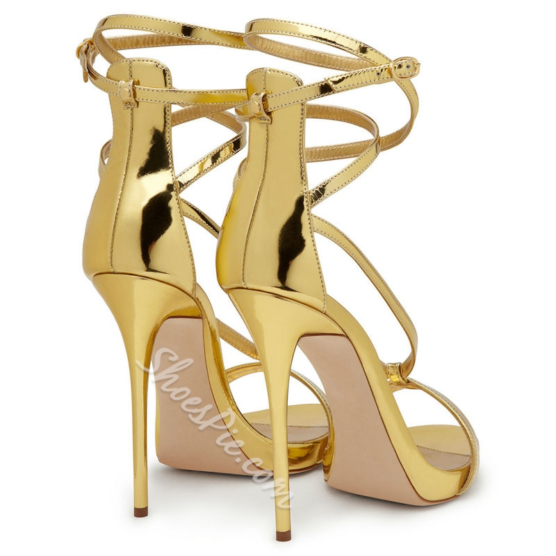 Shoespie Decent Strappy Dress Sandals