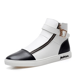 Shoespie New Arrival Side Zipper Men's Sneakers