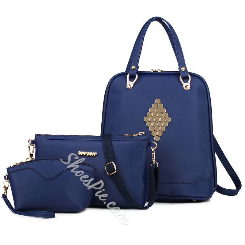 Shoespie Metal Appliqued Bag Sets