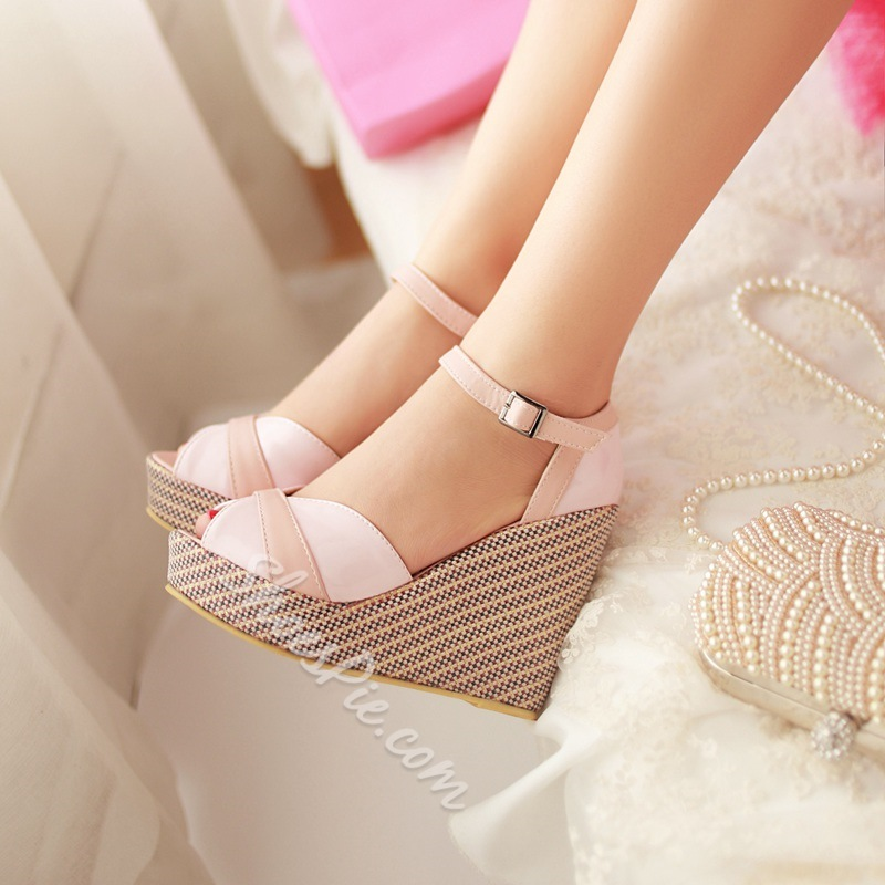Shoespie Cute Wedge Sandals