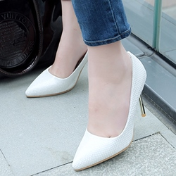 Shoespie Chic Plain Work Stiletto Heels