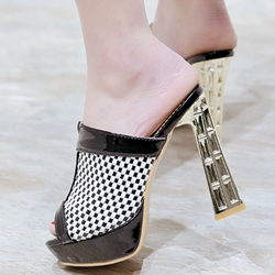 Shoespie Stylish Open Toe Mule Shoes