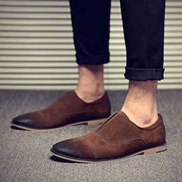 Shoespie Vintage Soft Leather Men's Shoes
