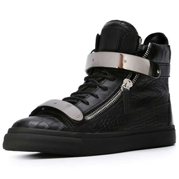 Shoespie Black Chic Men's Sneakers