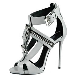 Shoespie Light Gray Sandals