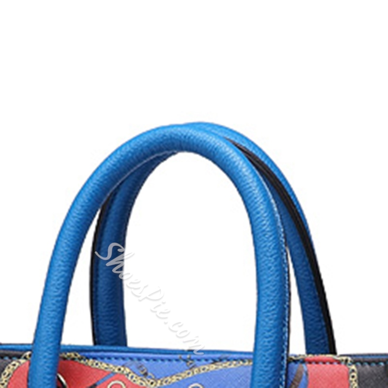 Shoespie Pop Art Print Handbag