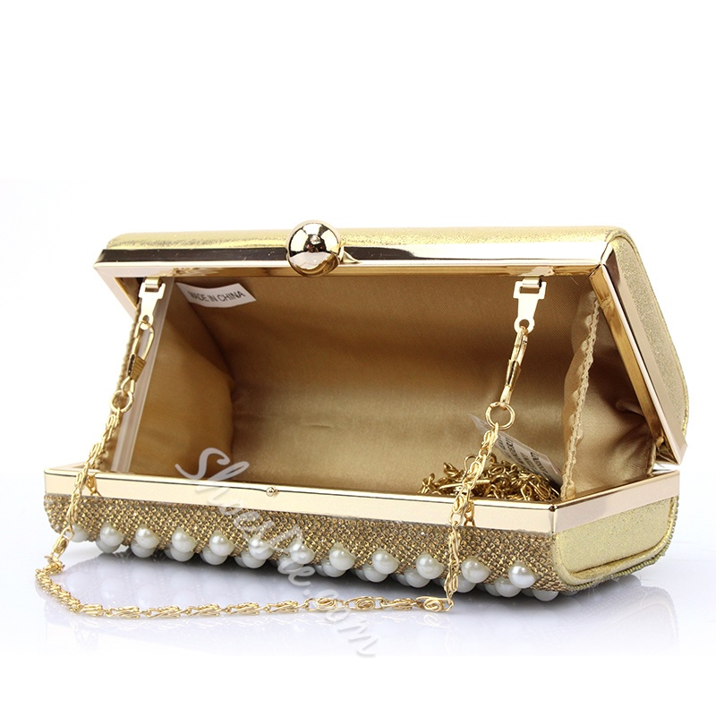Shoespie Chic Beaded Clutch