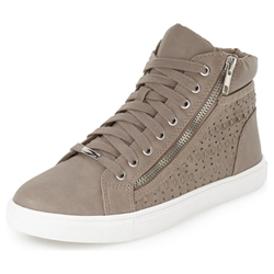Shoespie Leather Carvings Sneakers