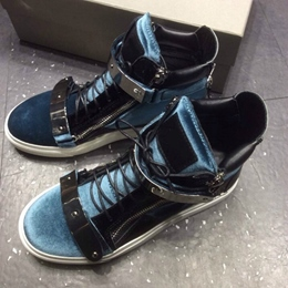 Shoespie Blue Men's Sneakers