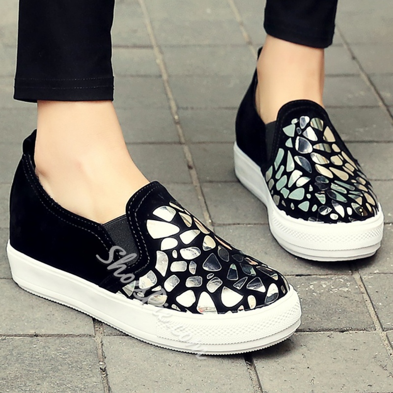 Shoespie Sequined Sneakers