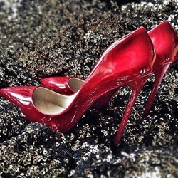 Shoespie Sexy Red Party Stiletto Heels