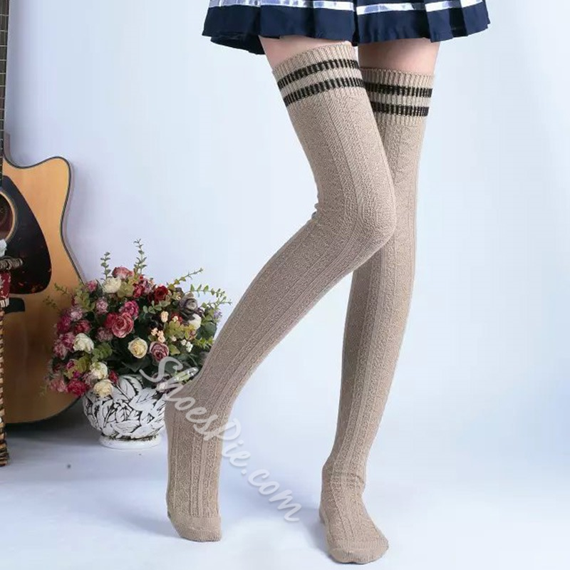 Shoespie Comfortable Cotton Long Stockings
