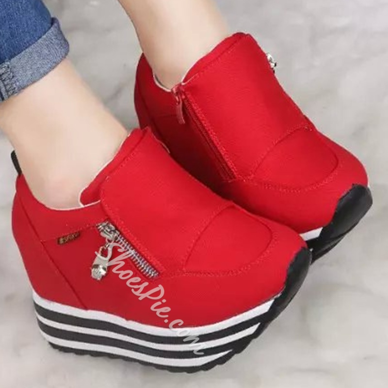 Platform Thread Women's Casual Shoes