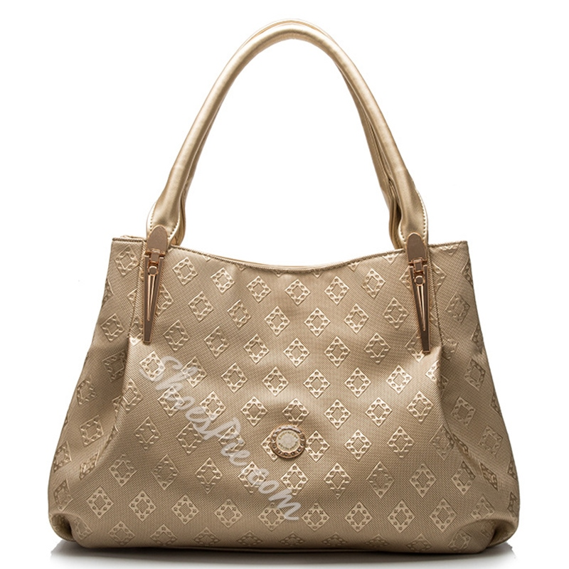 Shoespie Chic Print Handbag