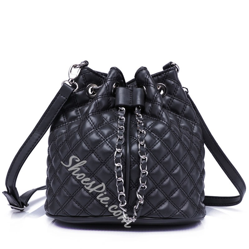 Shoespie Classy Plaid Backpack