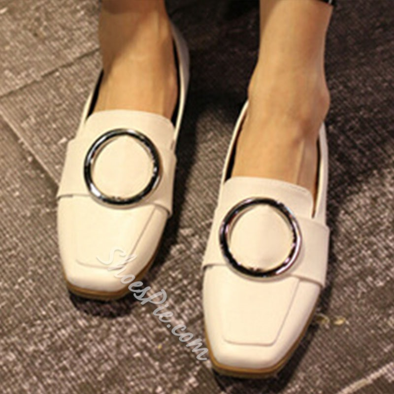 Shoespie Fashion Comfortable Buckle Loafers