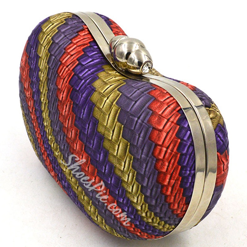 Shoespie Awesome Plait Clutch