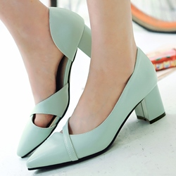 Shoespie Elegant Solid Color Low Heels
