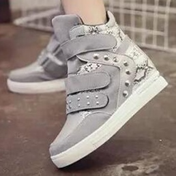 Shoespie Velcro and Rivets Sneakers