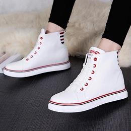 Shoespie Casual High Upper Canvas Shoes