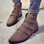 Shoespie Casual Velcro Martin Boots