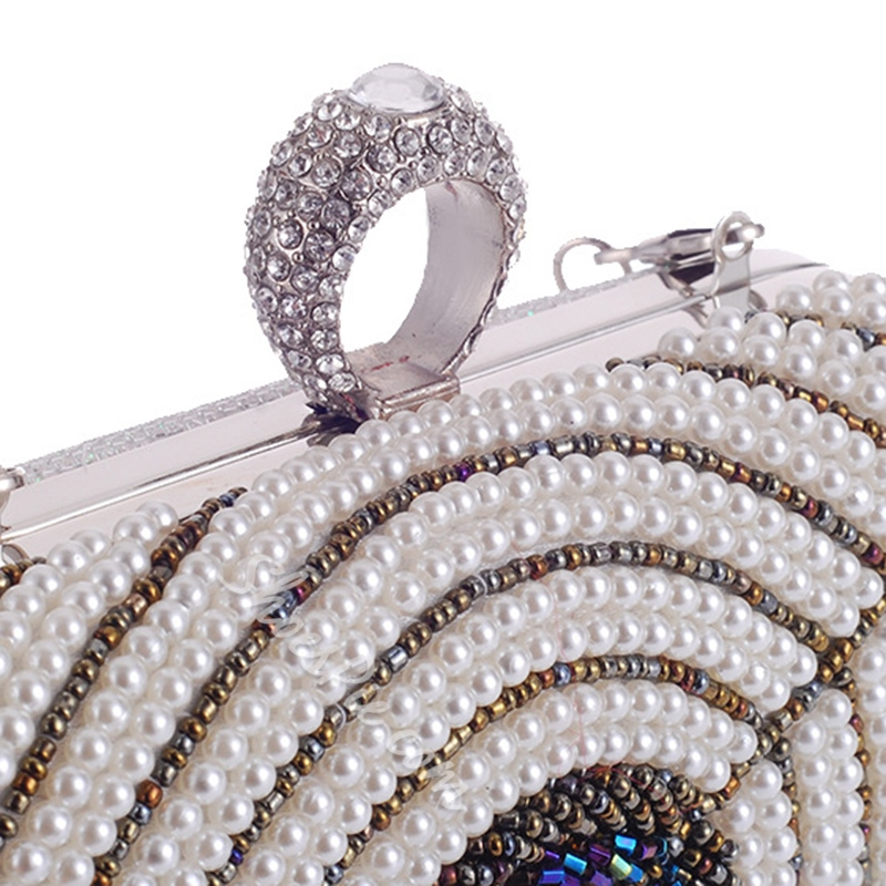 Shoespie Luxurious Beads Clutch