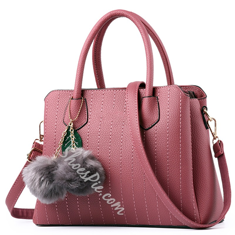 Shoespie Plain Elegant Office Lady Handbag