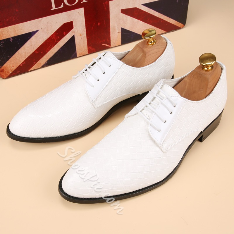 Shoespie Casual Lace-Up Oxfords For Men