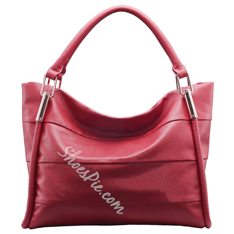 Shoespie Elegant Date Red Office Lady Handbag