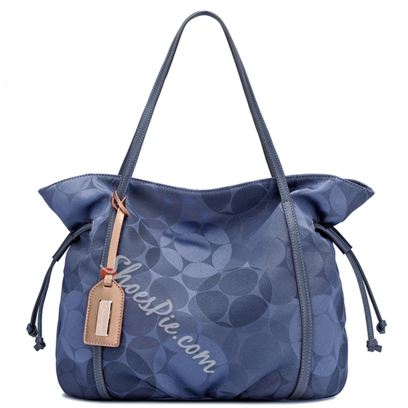 Shoespie Flower Print Handbag